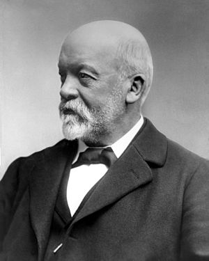 Mercedes-Benz - Gottlieb Daimler, founder of Daimler-Motoren-Gesellschaft.
