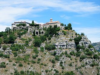 Gourdon, Alpes-Maritimes - A general view of Gourdon