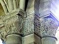 Gournay-en-Bray (76), collégiale St-Hildevert, bas-côté nord, chapiteaux du 5e pilier libre, côté nord-ouest.jpg