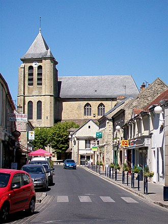 Gouvieux - The church in Gouvieux