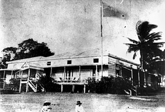 Francis Lascelles Jardine - The Jardine residence, former Government House at Somerset, Cape York, Queensland
