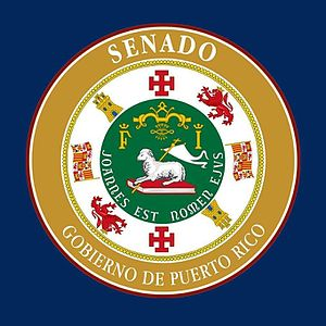 26th Senate of Puerto Rico - Seal of the 26th Senate of the Government of Puerto Rico