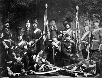 Governor General's Foot Guards - Governor General's Foot Guards, 1875