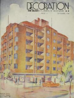 Gowrie Gate Art Deco building in Potts Point, Sydney, Australia