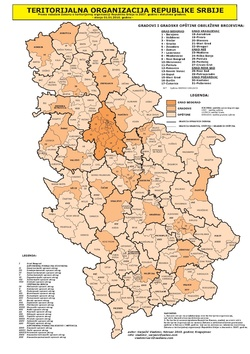 Spisak Gradova U Srbiјi Vikipediјa Slobodna Enciklopediјa