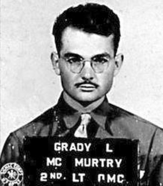 Grady Louis McMurtry - Grady Louis McMurtry as an officer in 1941