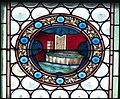 Gramastetten Pfarrkirche - Fenster V 4 Wappen.jpg