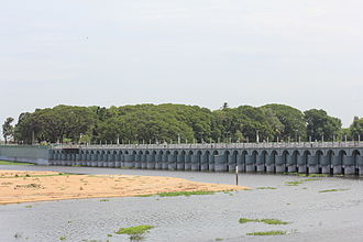 Economy of ancient Tamil country - Kallanai is one of the oldest water-regulation structures in the world