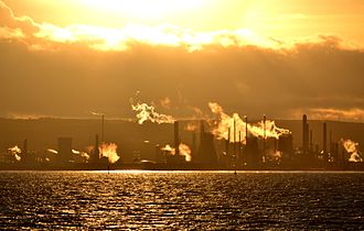Grangemouth Refinery - December 2011