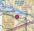Grapevine Airstrip (88AZ) on the Phoenix Sectional Chart.png