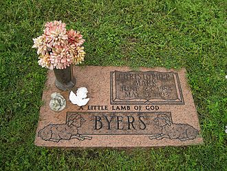 West Memphis Three - Grave of Christopher Byers