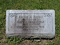 Gravestone of Glen Goodridge plus wife and mother.jpg