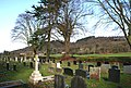 Graveyard of Holy Trinity Church, Bickerton - geograph.org.uk - 722956.jpg