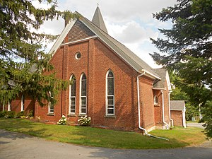 Patton Township, Centre County, Pennsylvania - Image: Grays United Methodist Church PA 550 Centre Co
