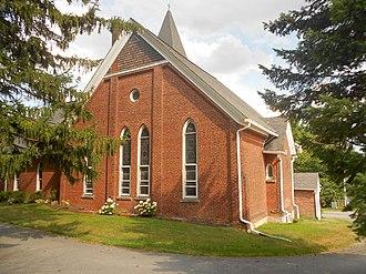 Patton Township, Centre County, Pennsylvania - Image: Grays United Methodist Church PA 550 Centre Co