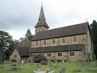Grayshott village in United Kingdom