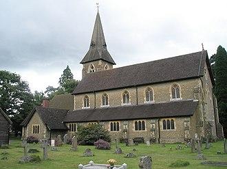 Grayshott - Image: Grayshott Parish Church geograph.org.uk 931141