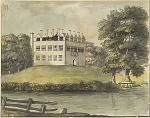 Great Fulford - Image: Great Fulford Devon 1780 British Library
