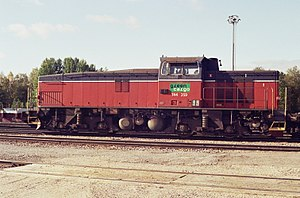 Green Cargo T44 locomotive in Tornio Sep2008.jpg