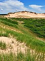 Greenwich mobile parabolic dunes and Gegenwälle ridges seen from the west, Prince Edward Island, Canada - panoramio.jpg