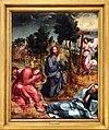 Gregório lopes, retablo di santos-o-novo, 1540-45 ca. 01 orazione nell'orto.jpg