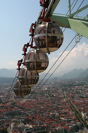 Grenoble cable cars view from Bastille.jpg