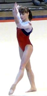 Anastasia Grishina Russian artistic gymnast
