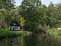 Großes Fließ, Spreewald - 150m vor Hotel Eiche.jpg