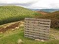Grouse butt, Birks Hill - geograph.org.uk - 242990.jpg