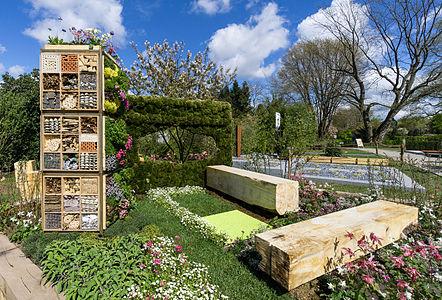 Show garden Bee Home Garden inside Grugapark