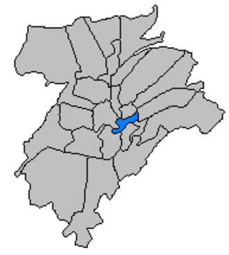 Grund, Luxembourg - Grund, in central Luxembourg City.