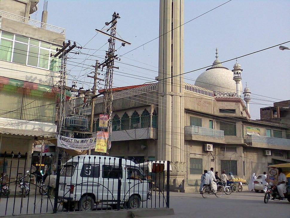 Gumbad wali Masjid Jhelum001