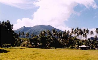 Mount Ibu - Image: Gunung Ibu