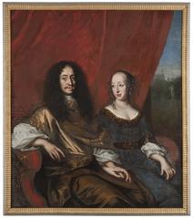 Gustav Adolf, 1633-1695, hertig av Mecklenburg-Güstrow. Magdalena Sibylla, 1631-1719, av Holstei