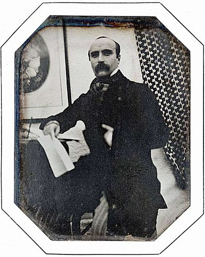 Picture of an author: Gustave Flaubert