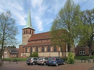 Hünxe - Hünxe, church