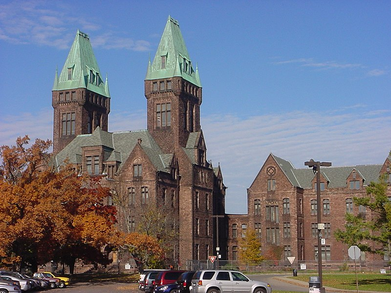 Buffalo State Hospital in Buffalo, New York