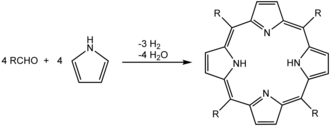 Precipitation (chemistry) - Image: H2TPPsyn