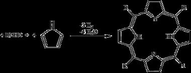 Porphyrin synthesis