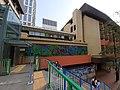 HK CWB 銅鑼灣 Causeway Bay 禮頓道 Leighton Road 奧運橋 Olympic Bridge footbridge view St Paul's Convent School October 2019 SS2 01.jpg