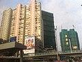 HK Chatham Road Chatham Gate 蔚景樓 Wei King Building 怡富大廈 Yee Fu Wuhu Street footbridge Mar-2012.jpg