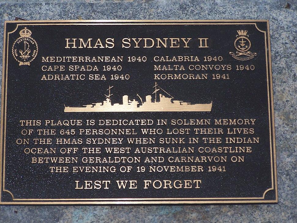 HMAS Sydney memorial 01 gnangarra