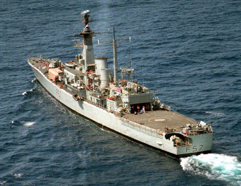 File:HMS Andromeda (F57) underway off Liberia 1990.JPEG