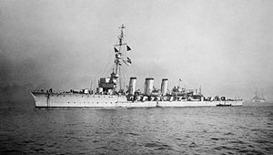 Charles Forbes (Royal Navy officer) - The cruiser, HMS ''Galatea'', commanded by Charles Forbes during the First World War