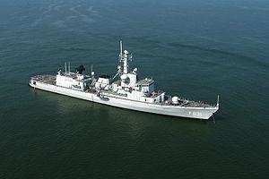 Karel Doorman-class frigate - Image: HMS Van Amstel F831 USN 8154G 232 cropped