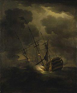 HMS Victory sinking