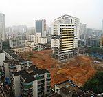 HNA Development Building (Haihang Development Building), shortly before demolition - 06.JPG