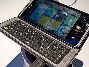 HTC 7 Pro - Image: HTC 7 Pro