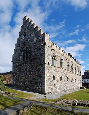 Haakon IV of Norway - Haakon's Hall in Bergen, constructed in the mid-13th century.