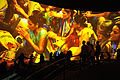 Hacking Space Participants Watch Panorama on Human Evolution - Science Exploration Hall - Science City - Kolkata 2016-03-29 3031.JPG